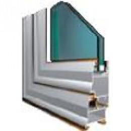 Fenster- und Türrahmen aus Aluminium Albio 108