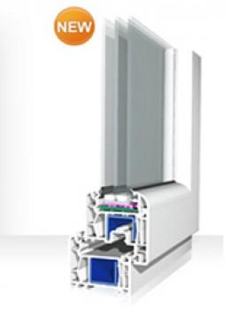 PVC Fenster- und Türrahmen Vivaplast – 5-Kammersystem